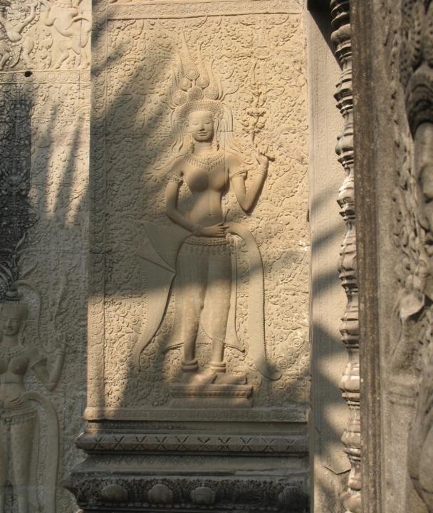Asparas at Angkor Wat