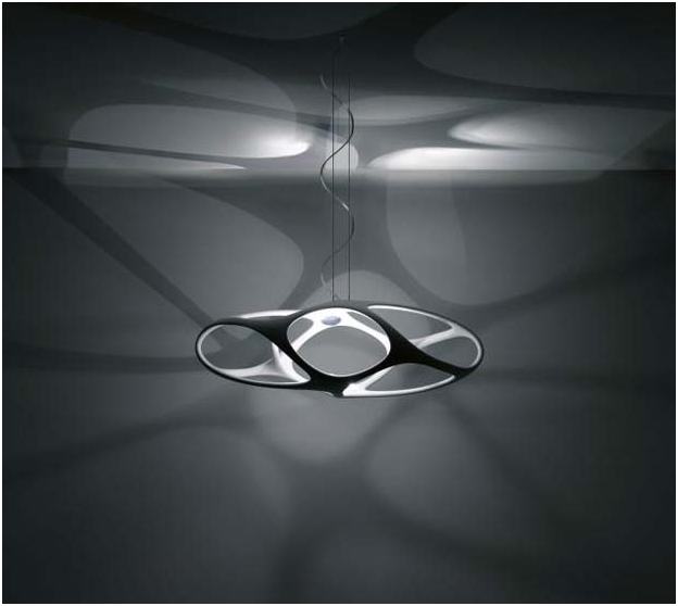 organic lighting fixtures. Ceiling Light Fixture With Embedded LEDs Organic Lighting Fixtures R