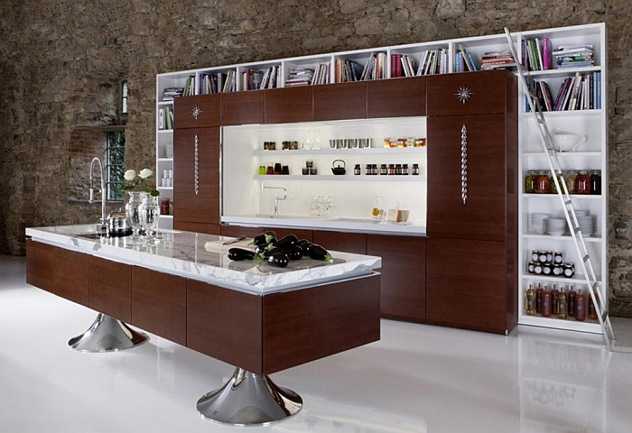 Organic Kitchen Design