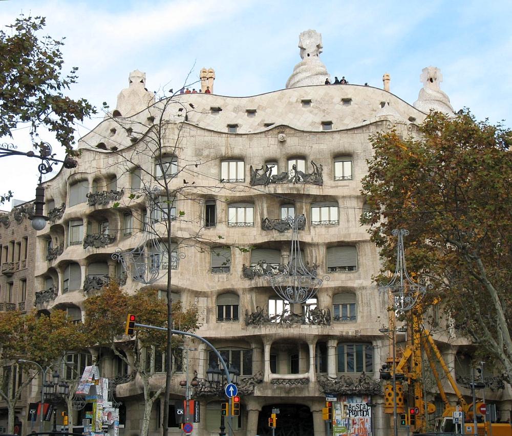 Casa Mila 'La Padrera' facade