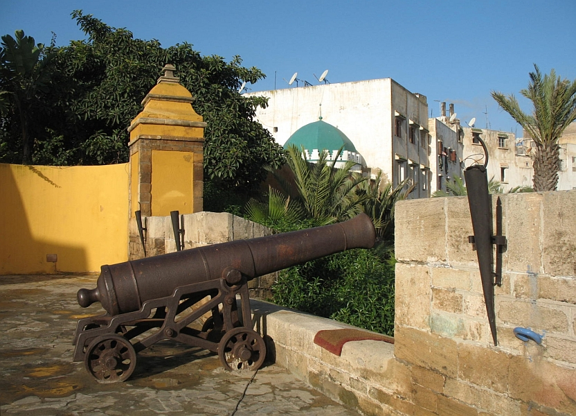 Remnants of Casablanca's 18th-century fortifications.