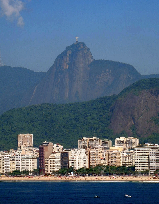 Rio View of the Cristo and Copa Beach