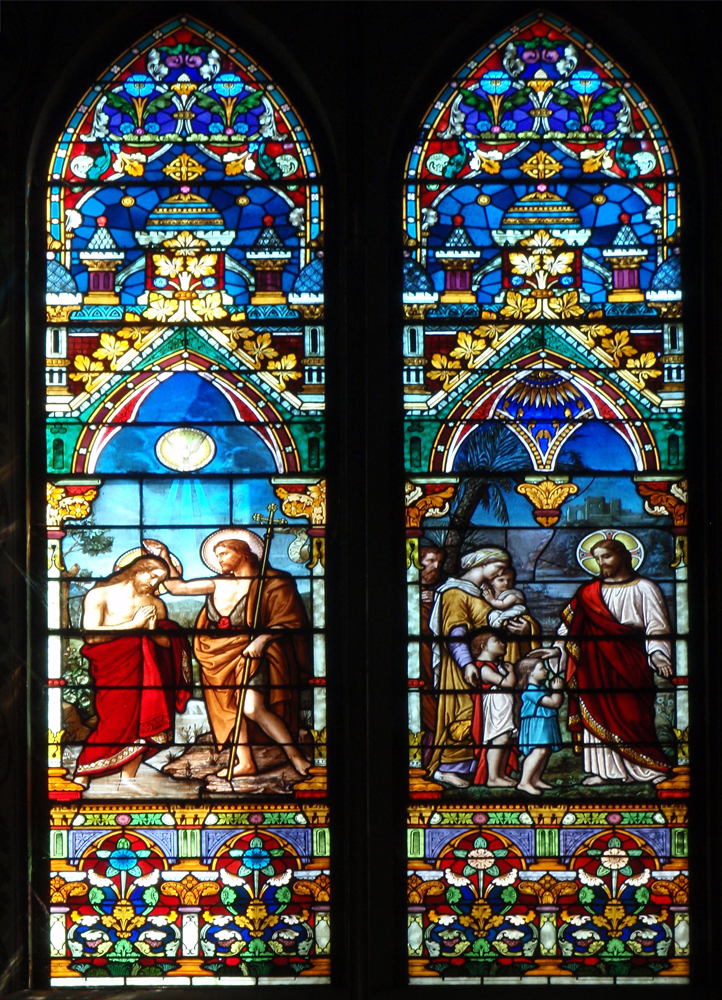 Rio Church Stained Glass Window