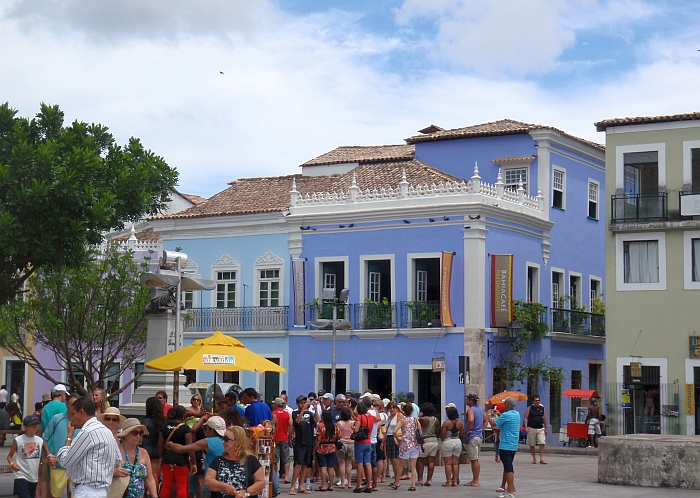 Salvador Cidade Alta Upper Town Square